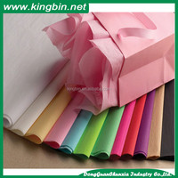 Colorful cheap wrapping tissue paper fancy color paper board