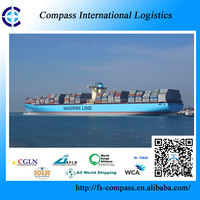 Sea freight with best logistics rate from China to Long Beach USA container shipping consolidation