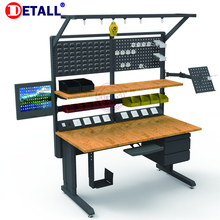 Detall fabbrica di elettronica work bench table