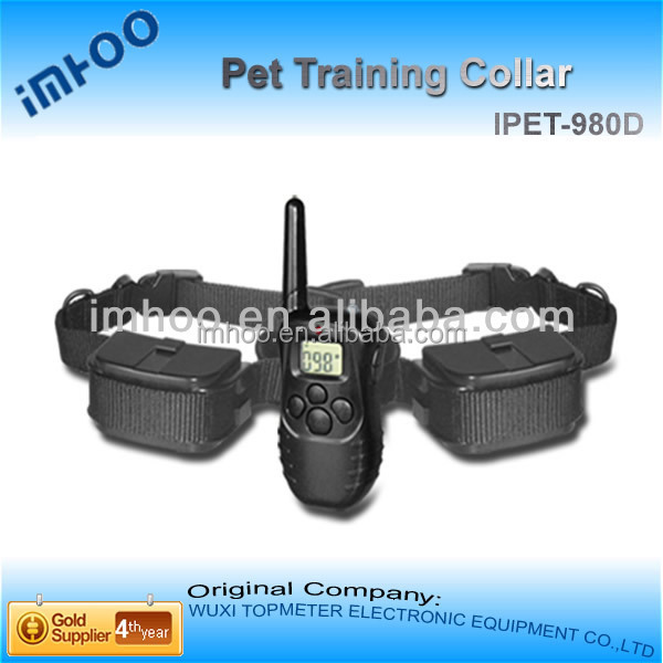 500m distance dog beeper tracking collar pet collars Remote pet training Collar