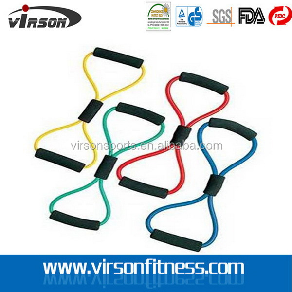 Virson Top quality hot sale latex resistance loop bands fitness bands