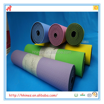 Fitness goods of double layer tpe yoga mats