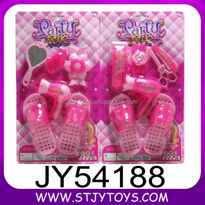 Newly arrival mini plastic DIY cosmetic/shoes toy for girl