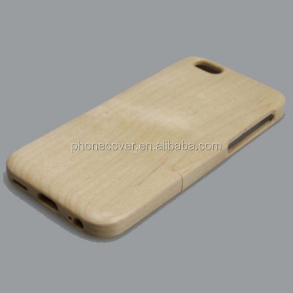 High quality hot selling Hard Protector Cover Genuine maple carbonized bamboo Wooden Phone Case For iPhone 6 5.5inch cover