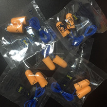 bell foam ear plugs sleeping bell ear plugs with string earplugs
