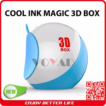 Latest multifunction disinfect box magic cool ink 3d pen creator