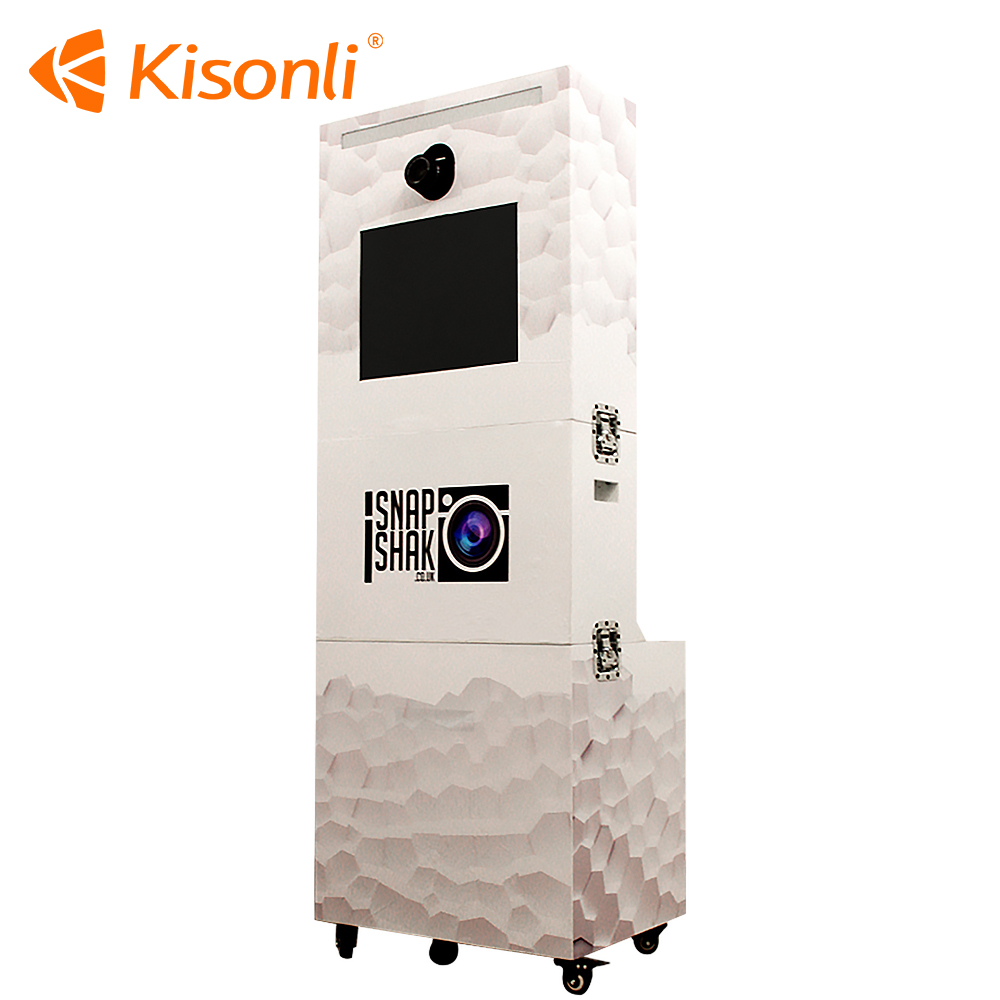 2016 Portable Photo kiosk / photobooth / photo booth shell for sale for business/vending/party/wedding