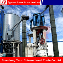 High quality gypsum powder production plant with ISO Aprroval profitable business ideas