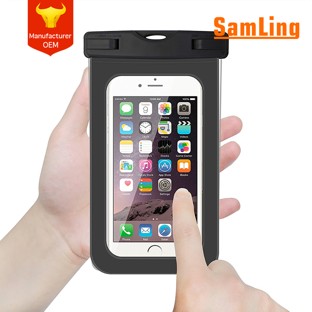 FREE SAMPLRafting Kayaking Swimming Boating Fishing Universal Waterproof Case Dry Bag for iPhone 6 6S Plus SE, Galaxy S6 S7 Edge