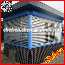 Transparent bar roller shutters