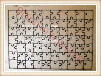 Jigsaw puzzle die cutting 28.5x20cm-70pcs unique design