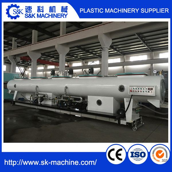 PVC threading groove production line PVC pipe production line