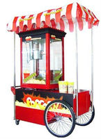 CE Certificate Approved Long Life Time Good Warranty Commercial Commercial Air Popping Popcorn Machine
