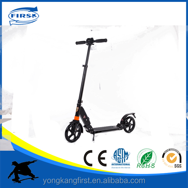Cheap price upgrade new design Adult Aircraft Aluminum sports kick two wheels foot balance scooter with suspension