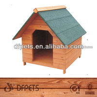 Apex Roof Wooden Dog Kennel DFD002