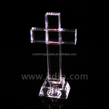 religious shining excellent crystal cross from China