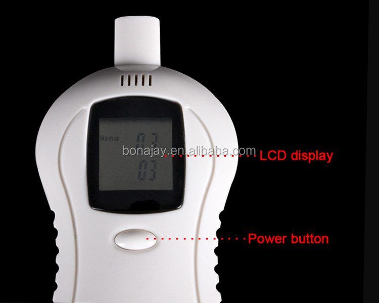 Promotional personal alcohol tester/breathalyzer