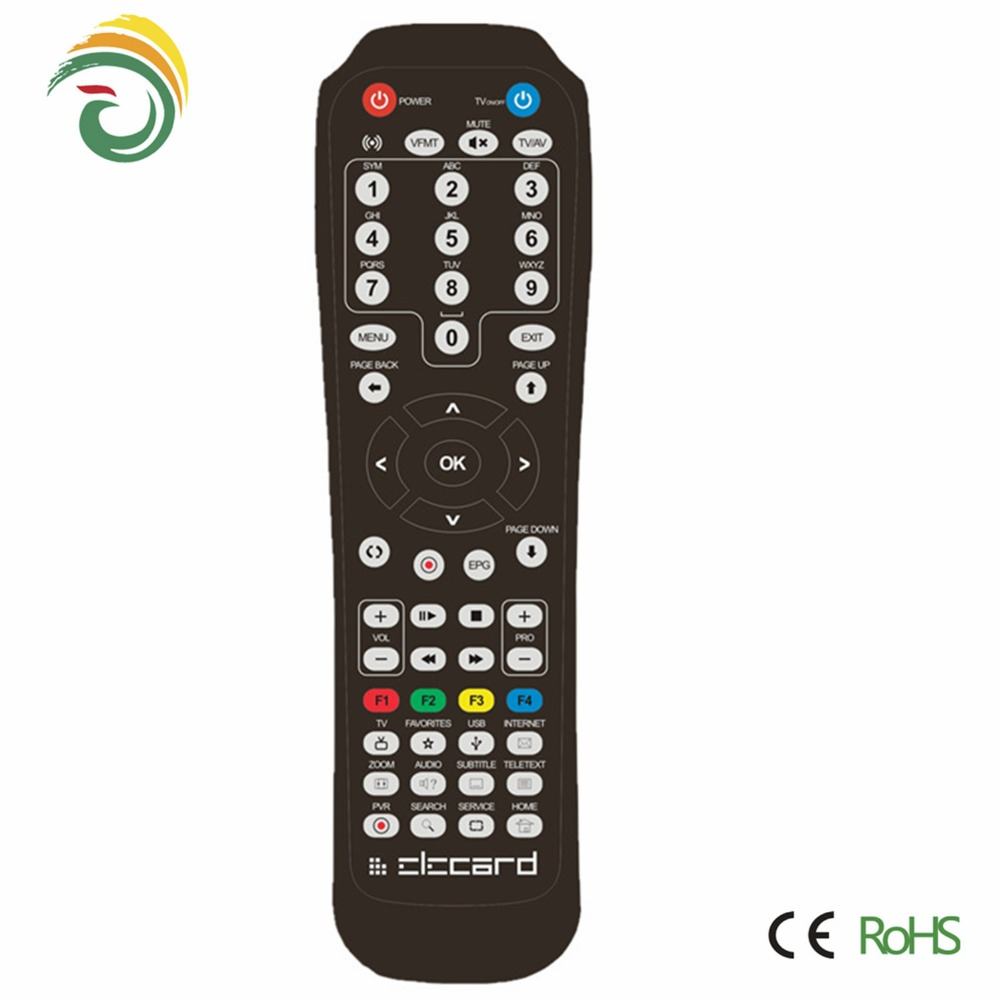 Newest model codes universal remote control rohs