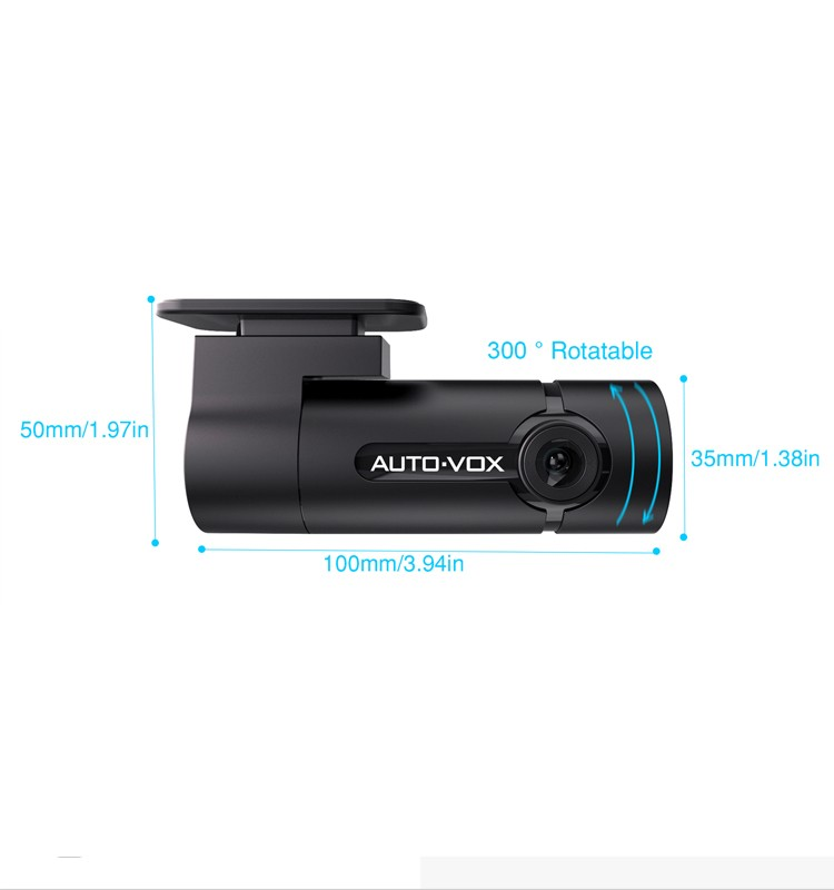 dash cam in car black box wifi dvr with G-sensor