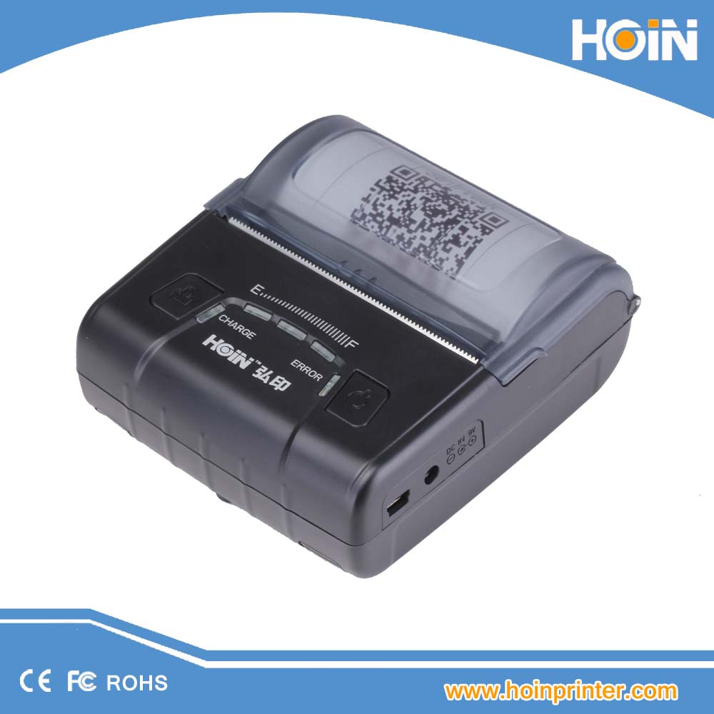 E300 80mm Mini Portable Bluetooth 4.0 Wireless Receipt Thermal Printer Compatible for IOS ,Android System MObile