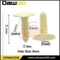 Factory produce auto clips/ car fasteners fit for gm
