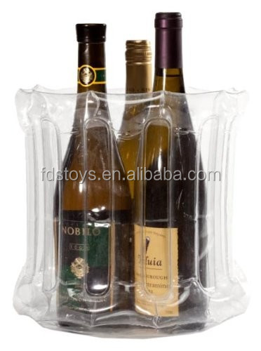Plastic Inflatable Ice Bucket-3 bottle