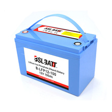 2000 deep cycle solar lifepo4 battery 12v 100ah lithium ion battery packs