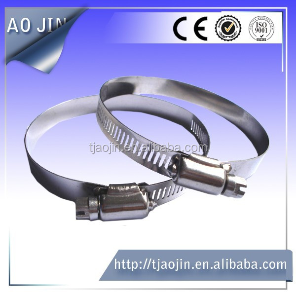 stainless steel pipe fitting/automotive hose clamps