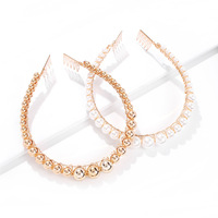 Factory Direct European and American Style Temperament Headband Classic Wild Pearl Hair Accessories
