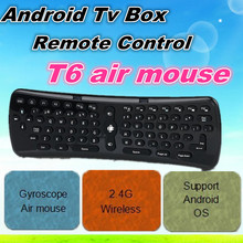 Hot Wholesale remote control T6 air mouse T6