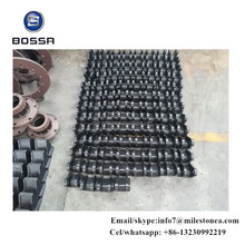 Manufacturer drawing customization railway spare parts, casting spare part for railway