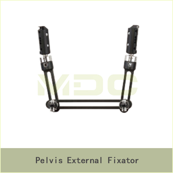 Pelvis external fixator, major surgical instrument
