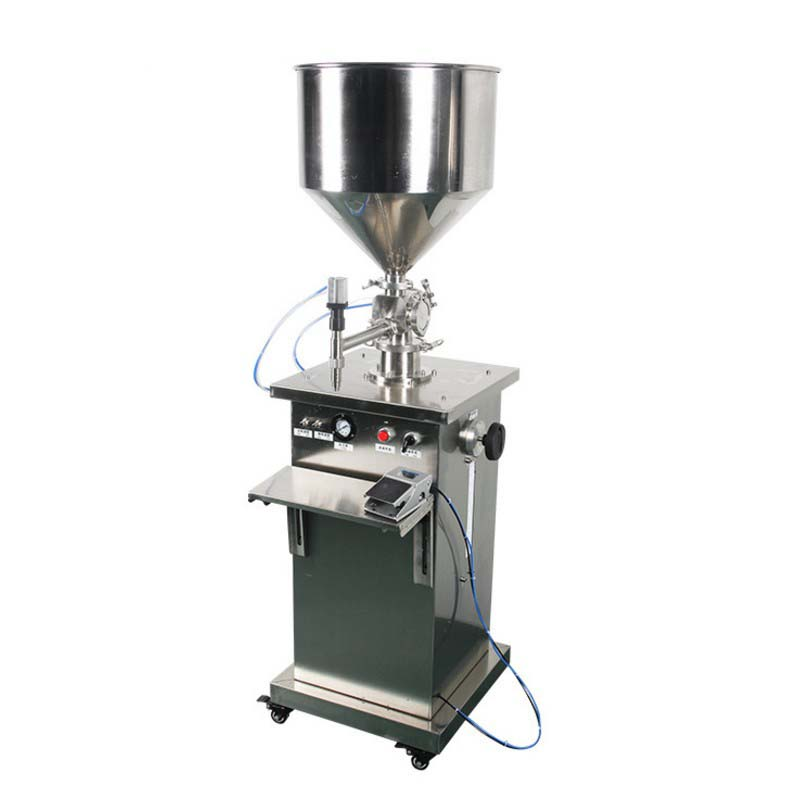 Full automatic self sucking liquid filling machine for food and chemical industry