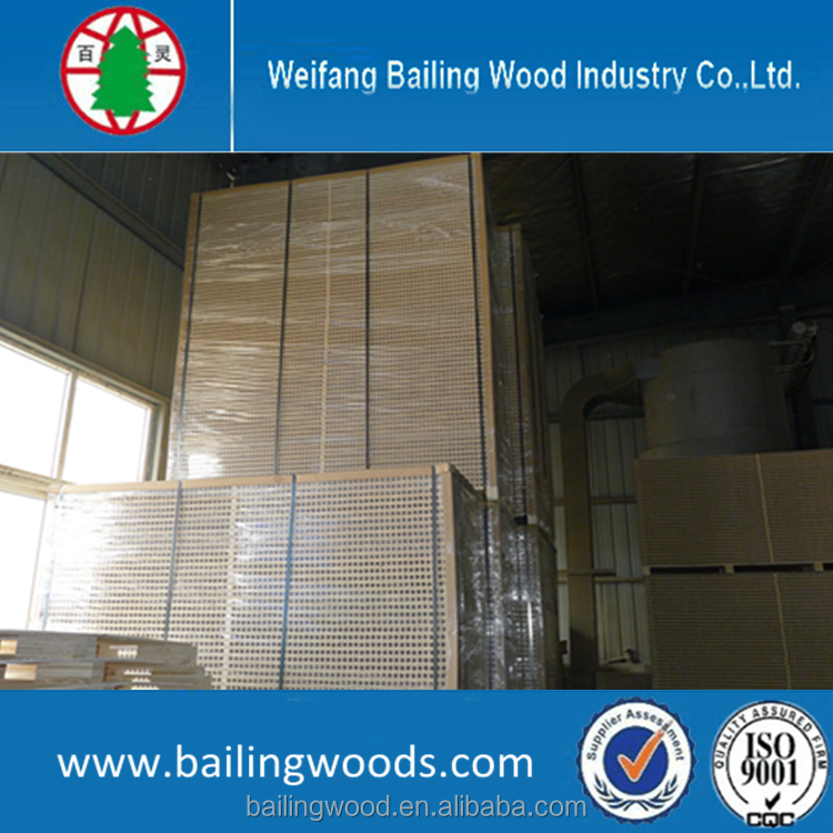 good quality low price hollow core particle board/tubular chipboard for door use