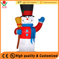 Factory Price Inflatable Santa Claus Christmas ornaments Led Christmas Light Snowman