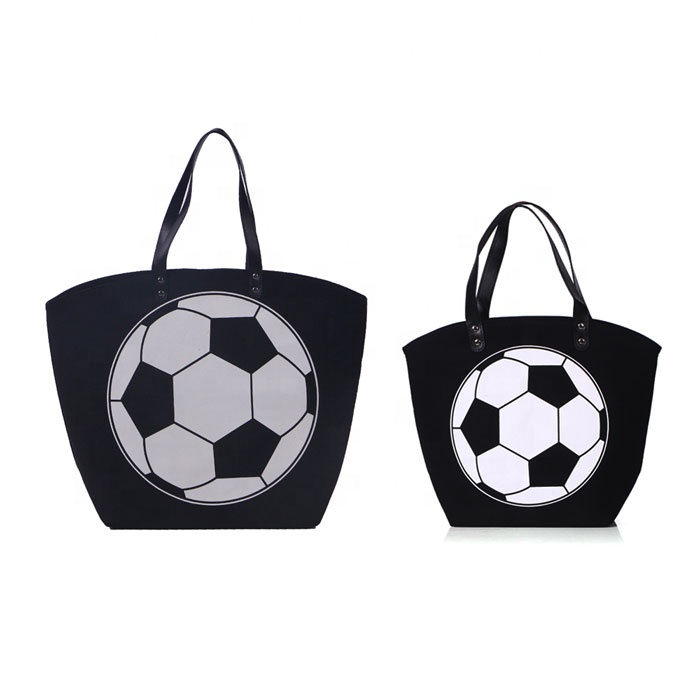 Wholesale Large Soccer Print Totes Sports Print <strong>Utility</strong> Totes