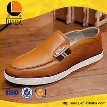 European and American style leather moccasin shoes for men