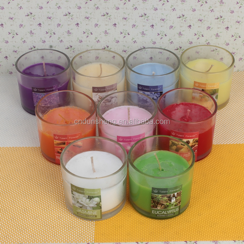 candle wholesale household scented jar candle, customized jar candle in glass cup