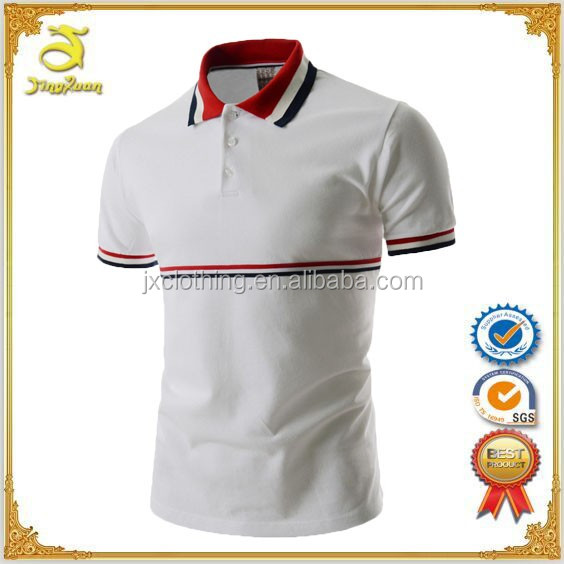 2017 fashion design work uniform breathable polo shirts