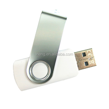 Customized swivel cheap 1gb 1 dollar usb flash pen drive with logo