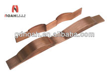 Transformer Accessories Bended And Punched Copper Coated Flexible Laminate Foil Soft Wire Connector