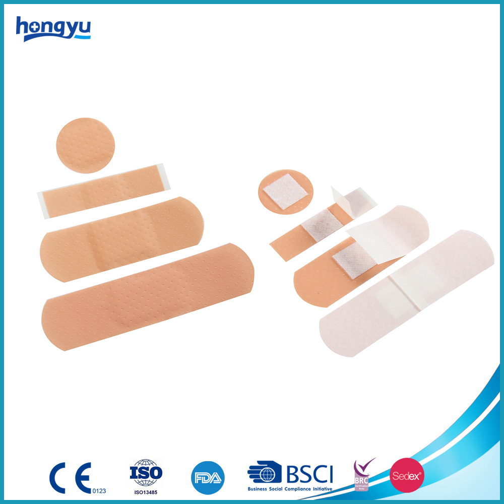 Family Mixed Pink PE Wound Plaster Finger band-aid