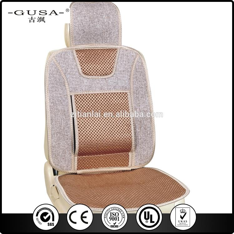 Nice and cool ventilate ice silk car cover/car seat medical bamboo cushion with high quality