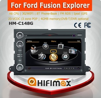 Hifimax for ford edge car gps navigation system