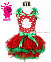 Wholesale Kids Designer Christmas Party Dresses Baby Dress Girls Lace TuTu Skirt Girls Dress