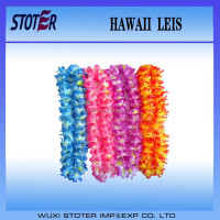 fashion polyester hawaii leis/Party leis
