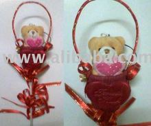 Wedding Souvenir - Teddy as Bunga Telur/Pahar