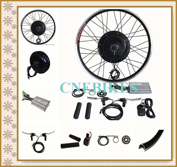 Bike DIY 1000w e-bike and electric bicycle kit