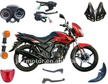 India TVS motorcycle body and engine parts