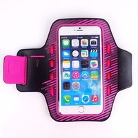 Armband cell phone case with led light For iPhone 6 / Samsung S5 / S4